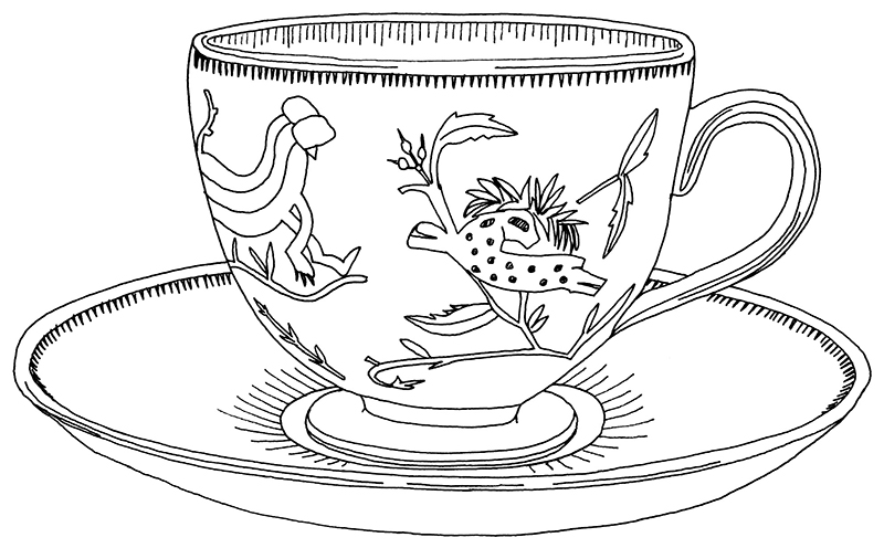 tea cup drawing at getdrawings com free for personal use tea cup