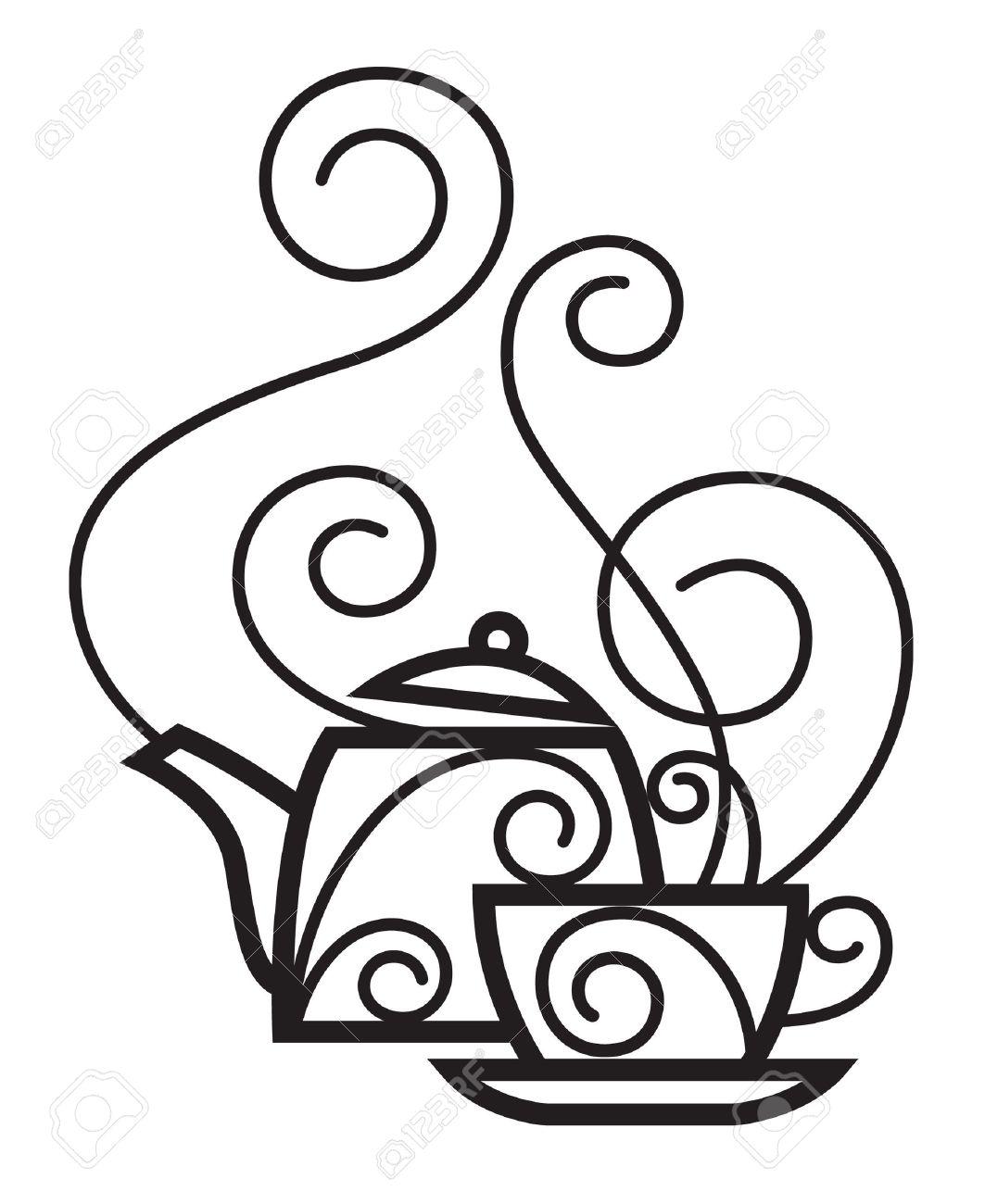 1063x1300 Drawn Teapot Teacup