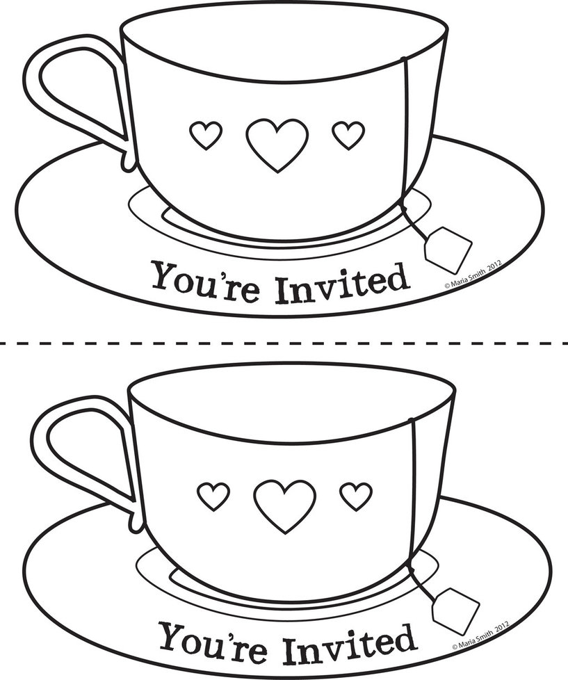 817x978 Mother's Day Teacup Invite