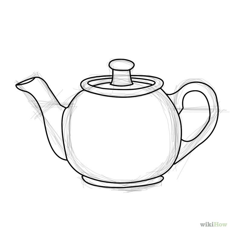 760x760 Draw A Teapot Teapot, Doodles And Drawings