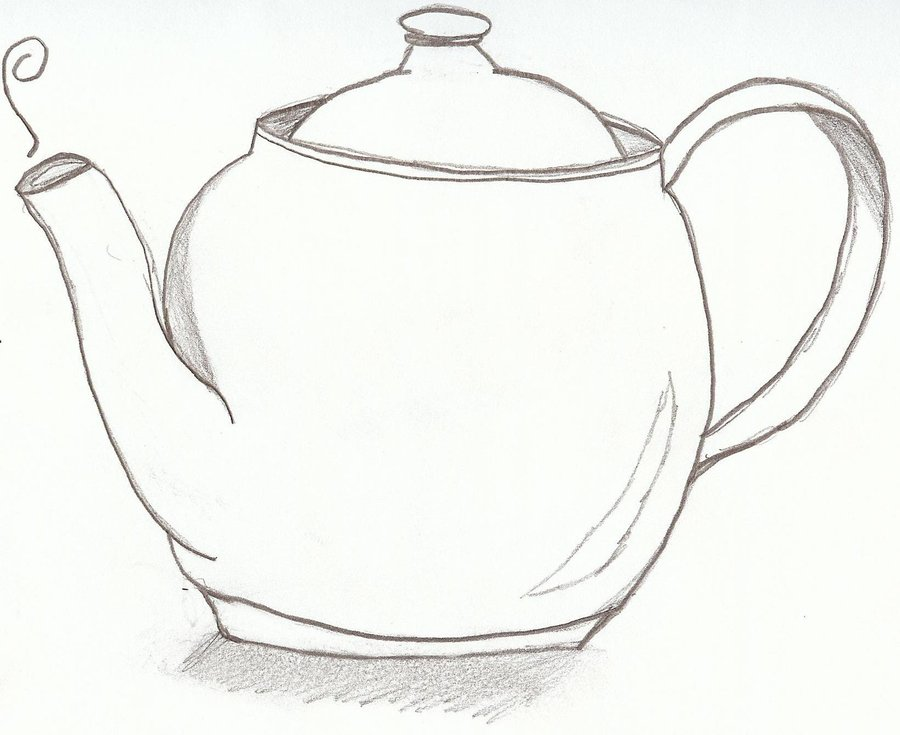 900x735 A Plain Teapot By Silvermoonwings
