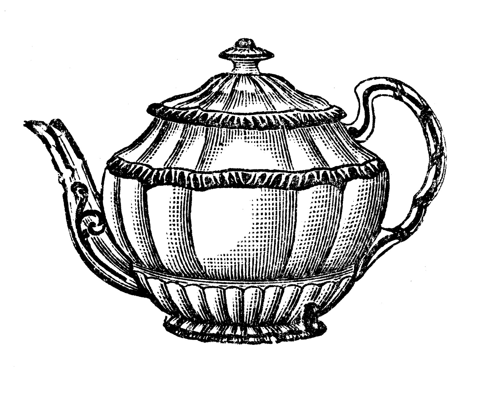 1600x1326 Tea Pot Clipart Clipart Panda