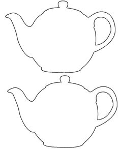 236x293 Teapot Printable Free Download