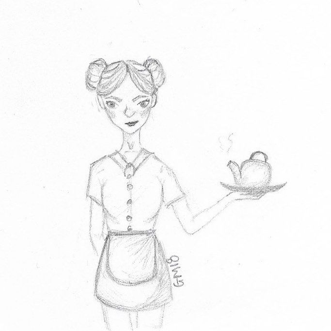 683x683 Waitress Day 14 Prompt Teapot