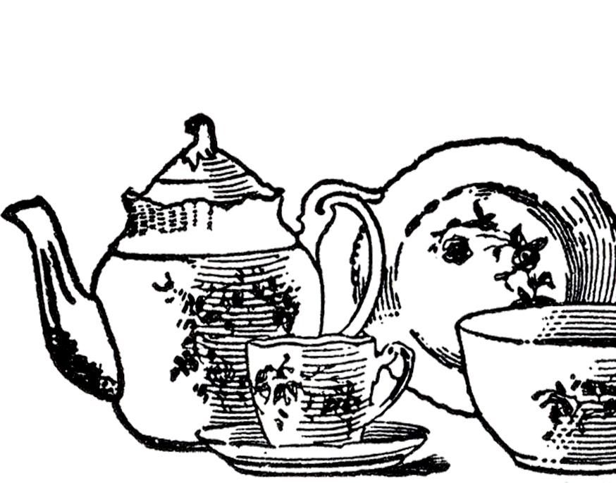 874x685 Vintage China Tea Set Image China Tea Sets, Vintage China And Teas