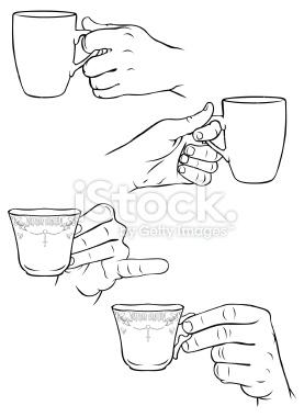 277x380 Drawn Tea Cup Coffee Cup