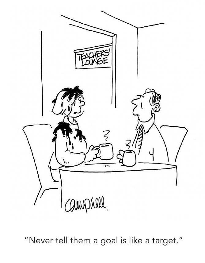 Teacher Cartoon Drawing