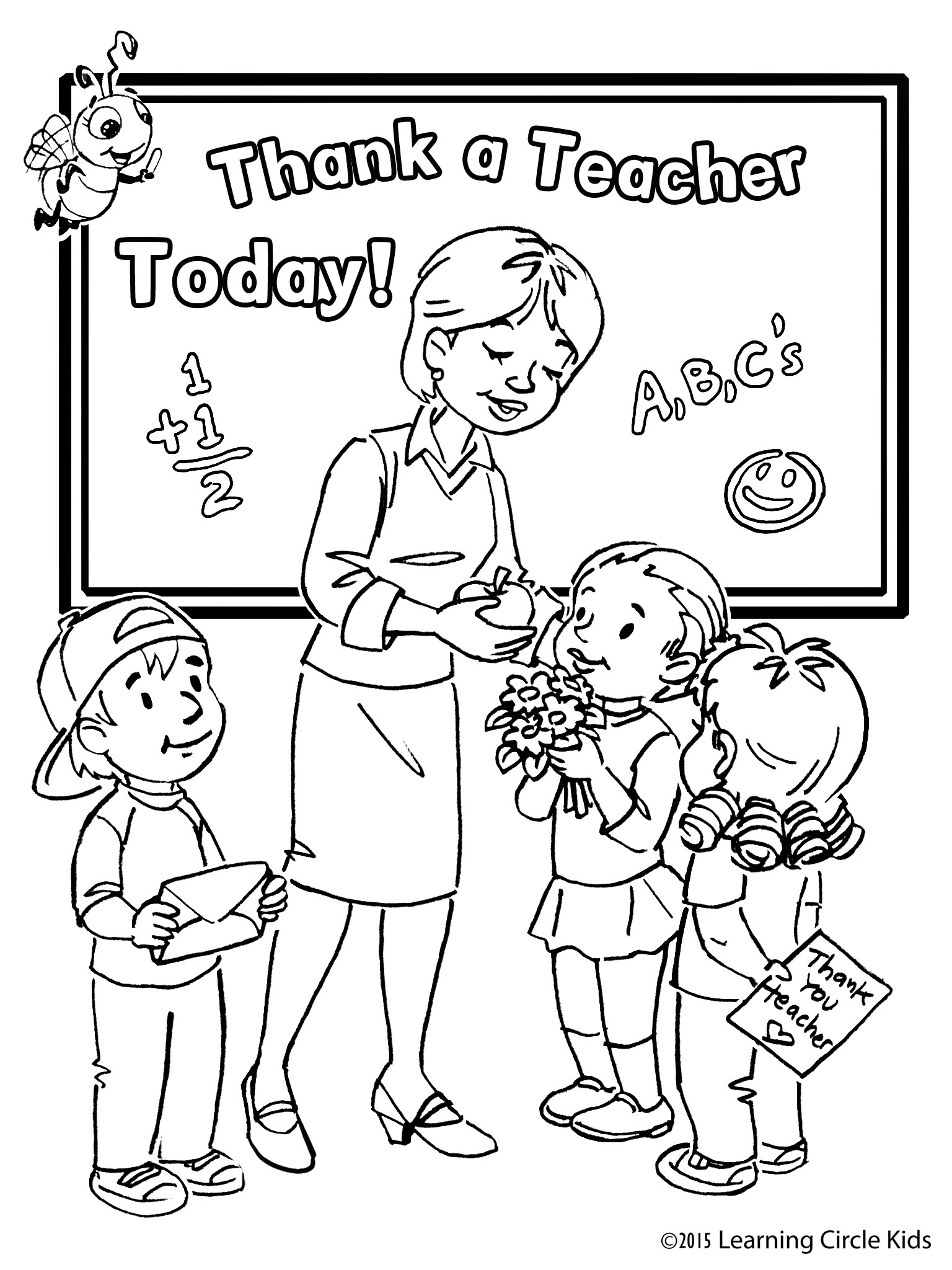 Teacher Drawing For Kids at GetDrawings.com | Free for personal use ...