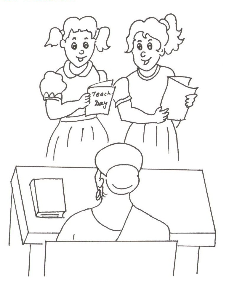 800x958 Popular Teacher Coloring Pages Best Coloring K