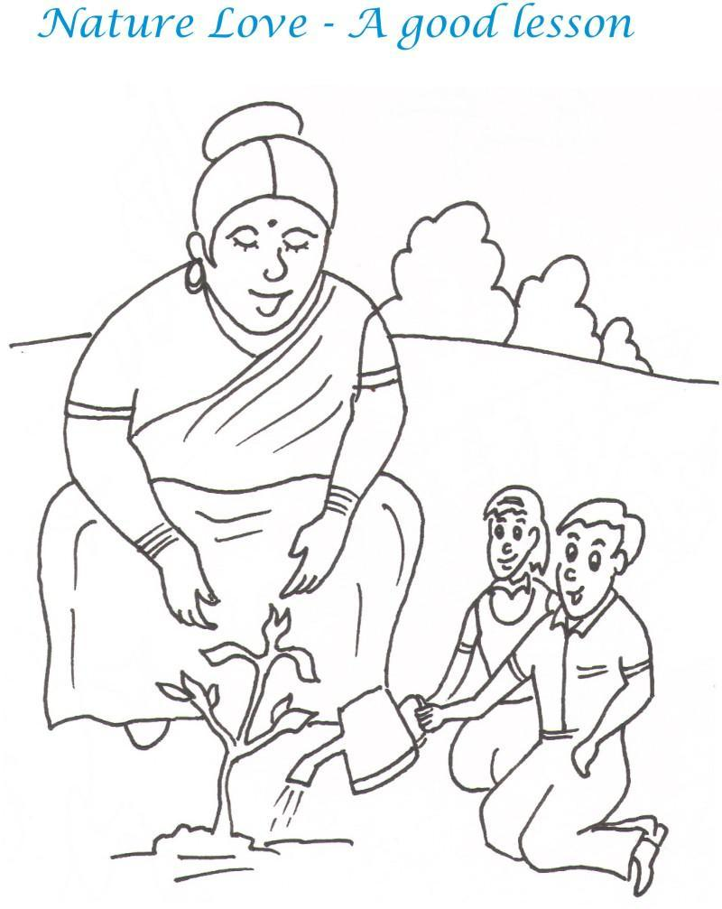 800x1007 Teacher's Day Printable Coloring Page For Kids 12