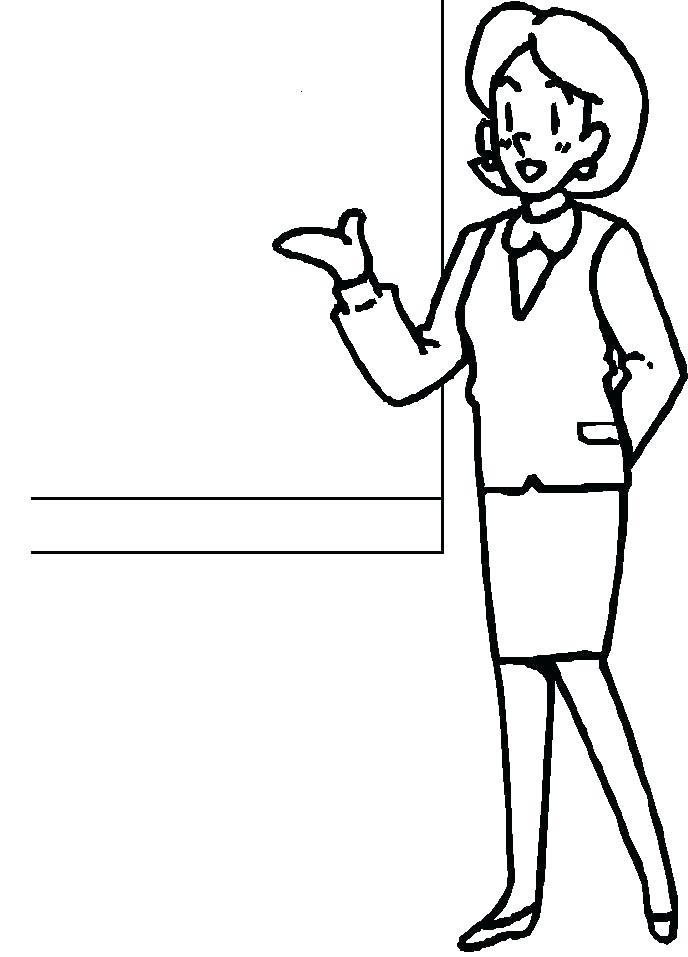 688x957 Number 1 Teacher Coloring Pages