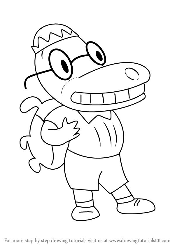 600x846 Learn How To Draw Scott Leadready Ii From Teacher's Pet (Teacher'S