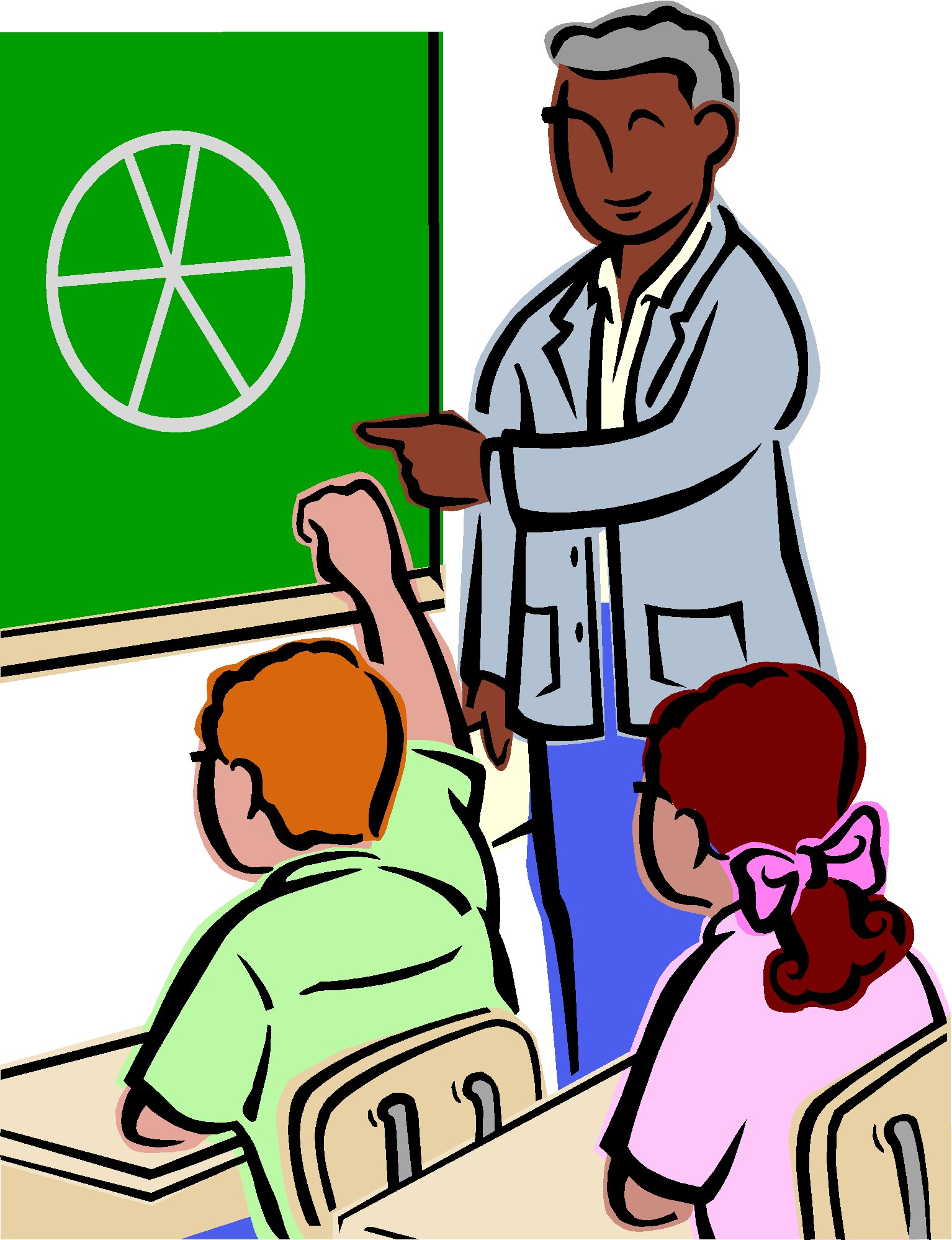 1534x1996 Teacher And Student Clipart Free
