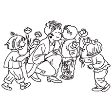 230x230 Top 10 Teacher's Day Coloring Pages For Your Little One