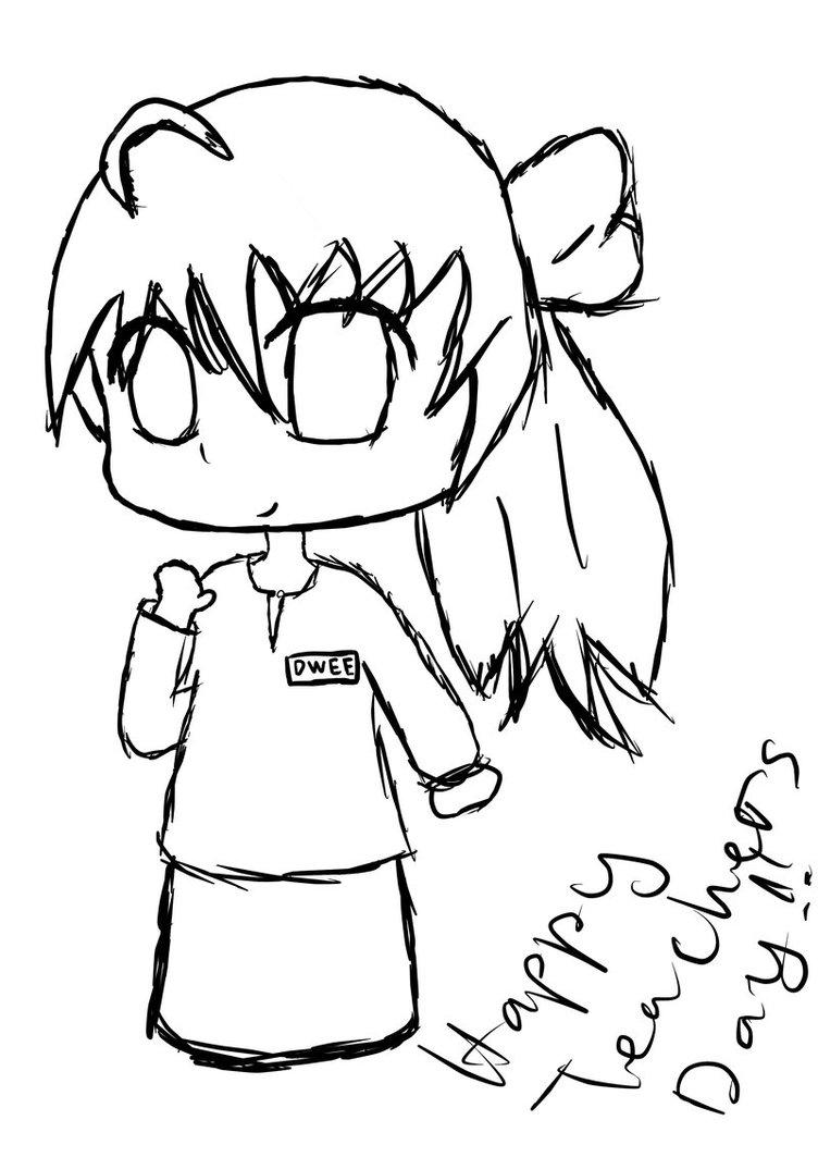 752x1063 Doodle Happy Teachers' Day !!! By Yamatoishizawa