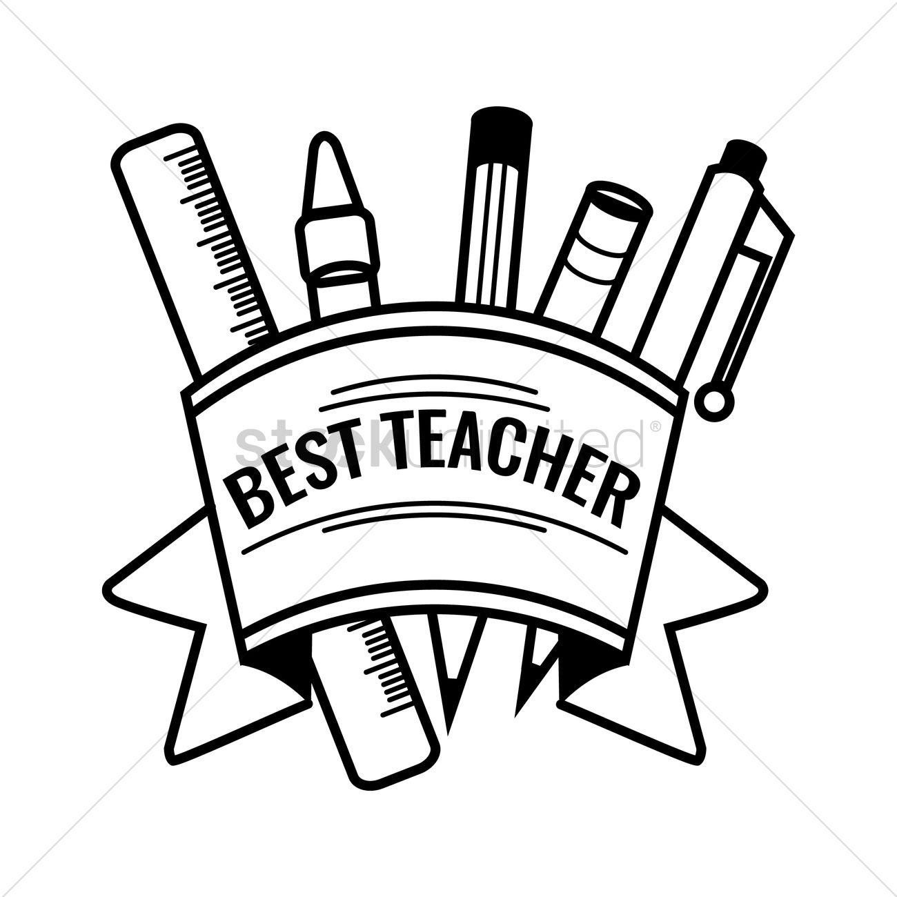 1300x1300 Happy Teacher's Day Design Vector Image