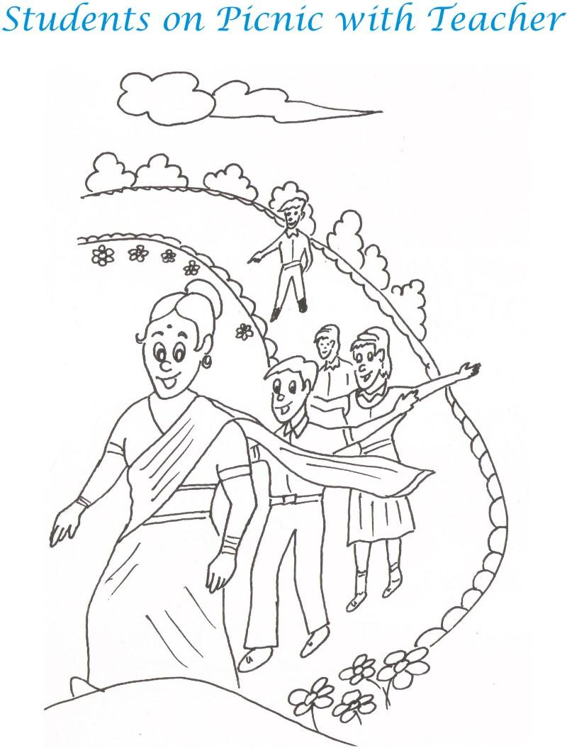 800x1055 Teacher's Day Coloring Pages