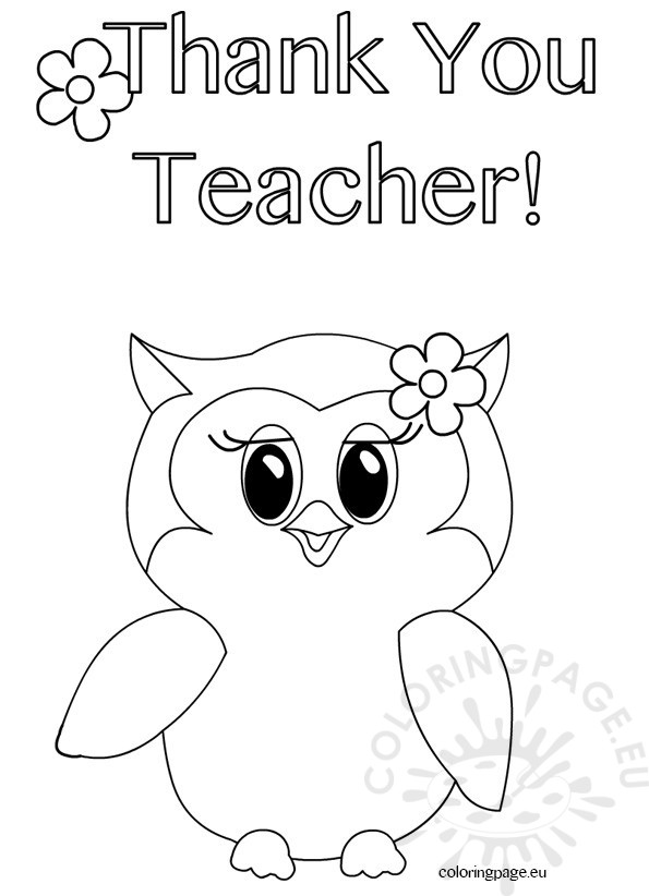 595x822 Thank You Teacher Drawings Drawings For Teachers Day