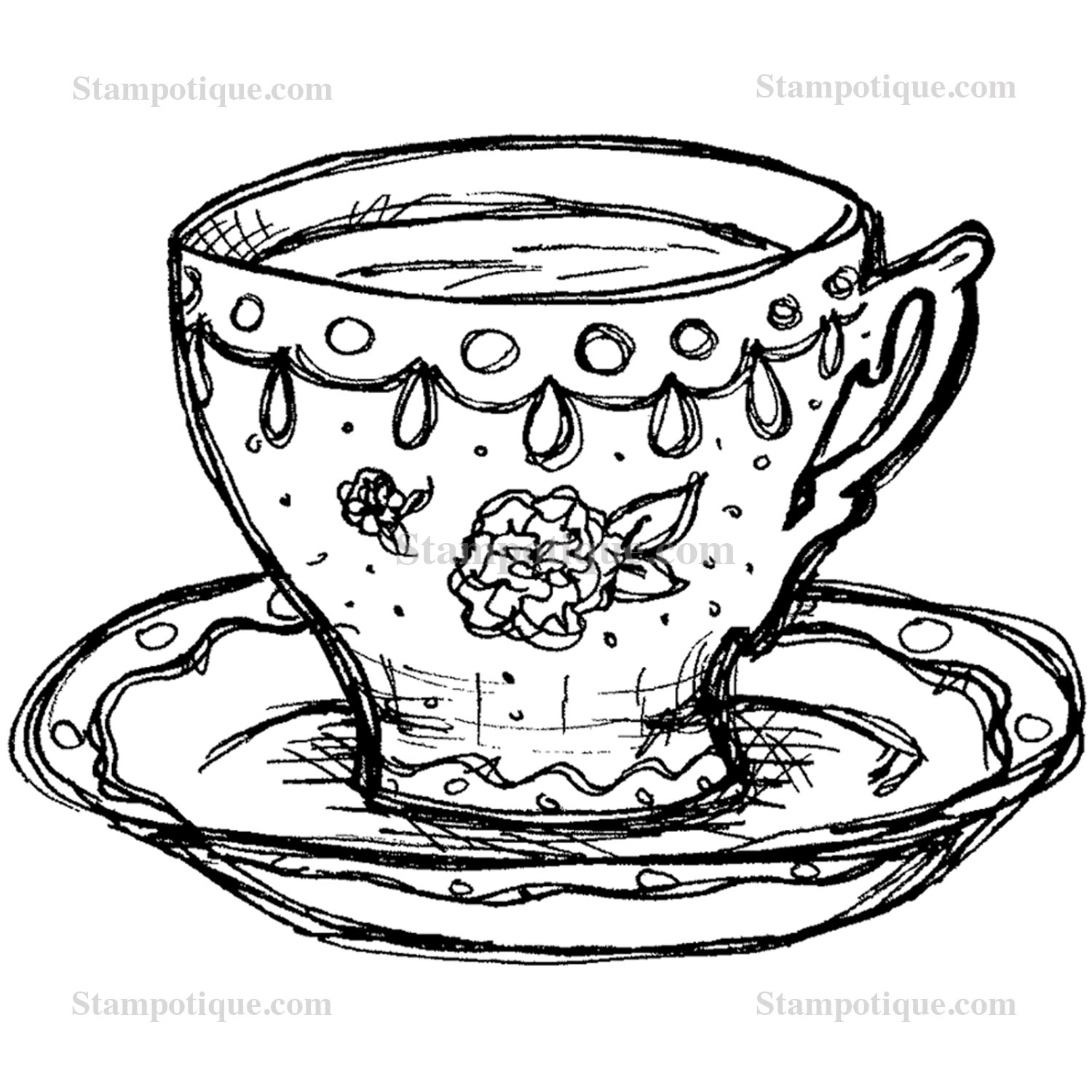 Teacup Drawing