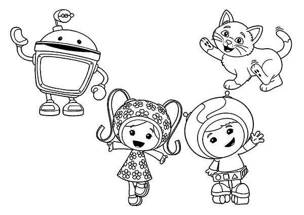 600x424 How To Draw Team Umizoomi Coloring Page Color Luna