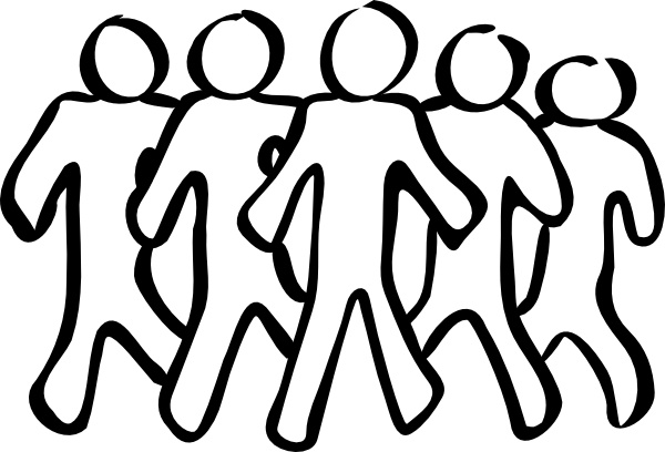 600x408 Team Sketch Clip Art Free Vector In Open Office Drawing Svg ( Svg