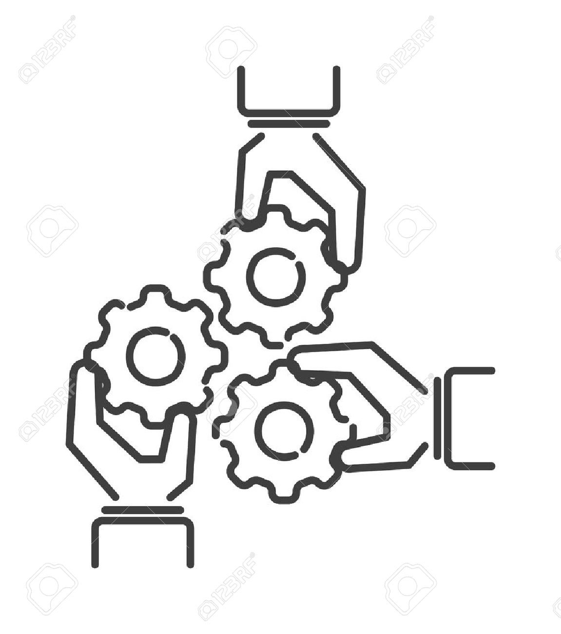 1151x1300 Teamwork Business People Teambuilding Icon Group Communication