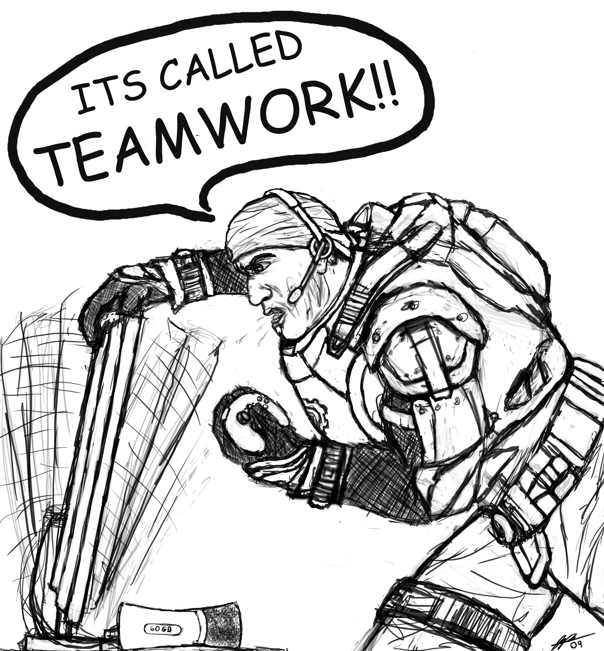 2000x2156 There A Lack Of Communication And Teamwork In Online Console Gaming