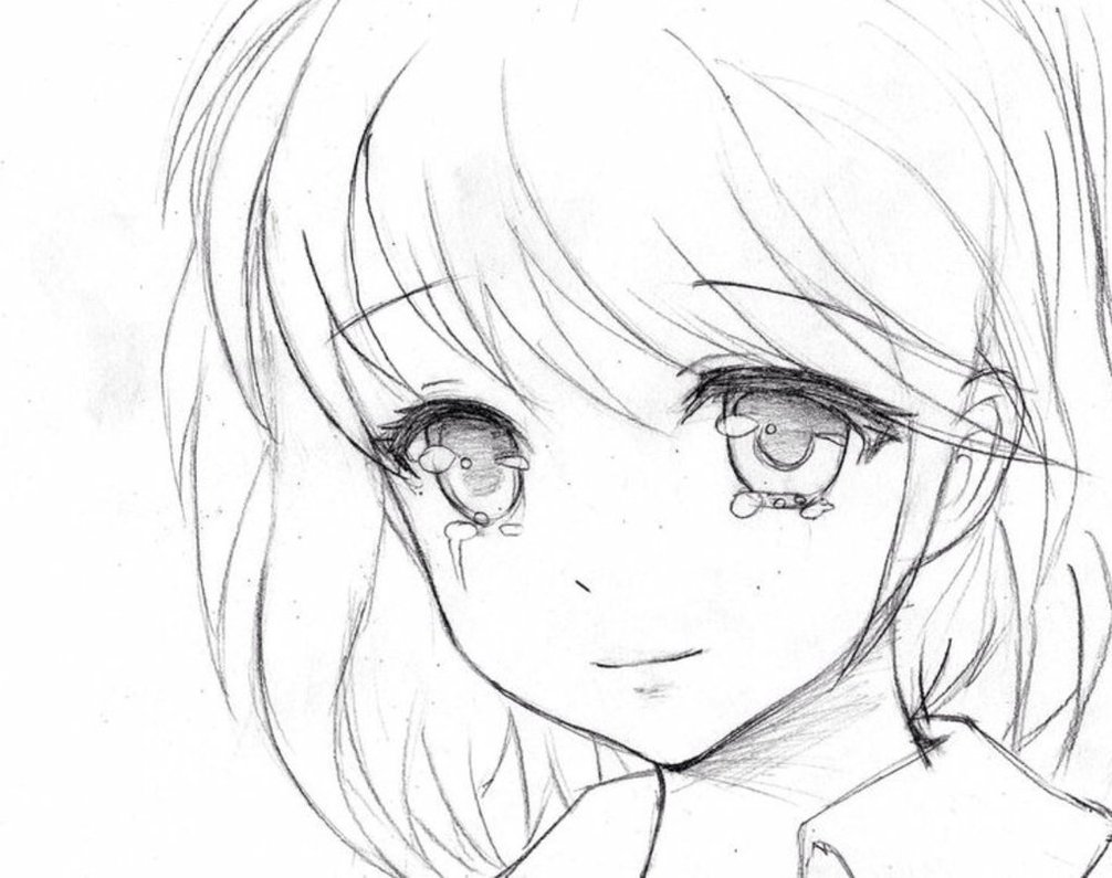 1006x795 Tear Of Joy Anime By Glitzy Cute