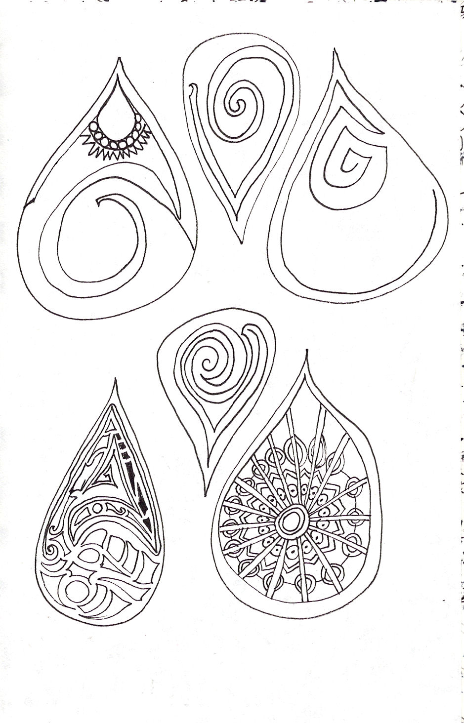 939x1464 Giddy Up Let's Ride Zentangle