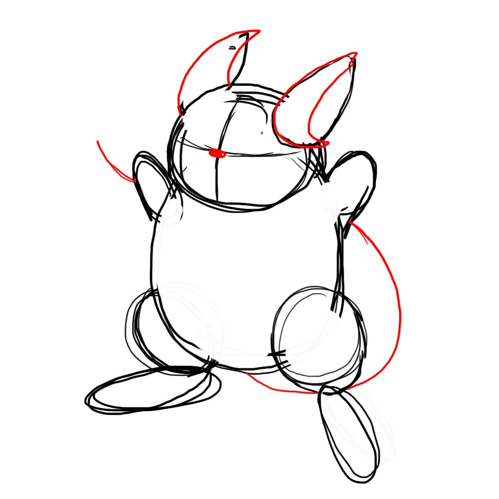 1000x1000 How To Draw A Raichu