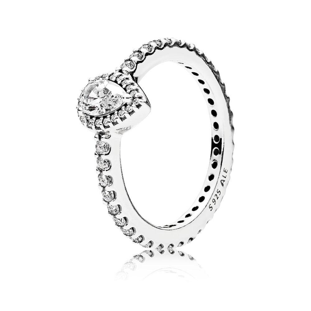 1000x1000 Radiant Teardrop, Clear Cz Pandora Jewellery Online Store