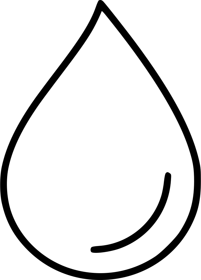 704x980 Drop Droplet Rain Tear Water Svg Png Icon Free Download ( 514073