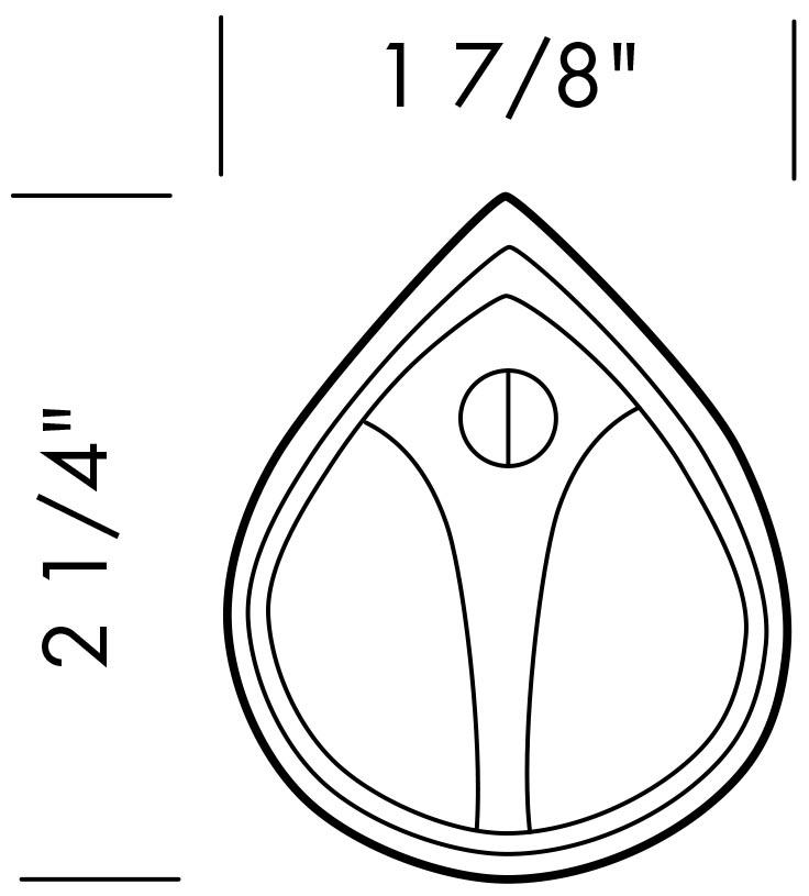 736x815 Sun Valley Bronze Kc 100 Original Teardrop Key Cover