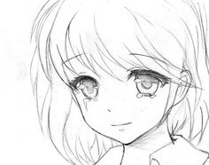 236x186 Anime Girl Crying Drawing Crying Girl By Jukanjo Drawings