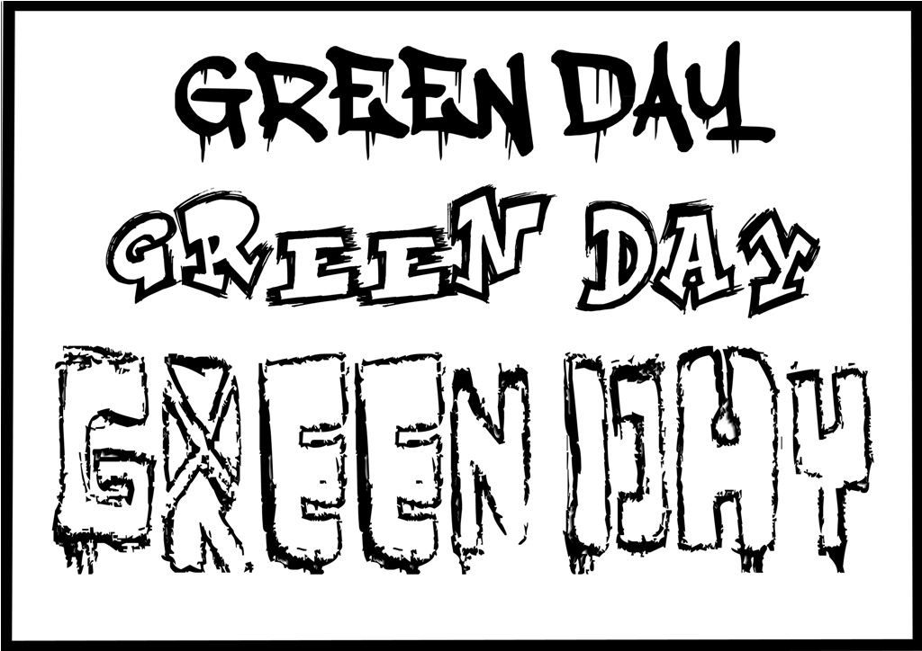1024x724 Green Day Fonts By Alternativepnk1039