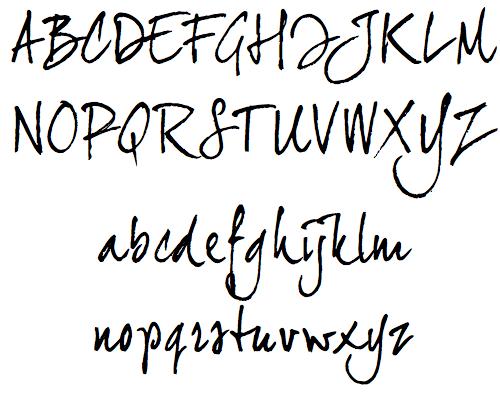500x394 40 Free High Quality Hand Drawn Fonts