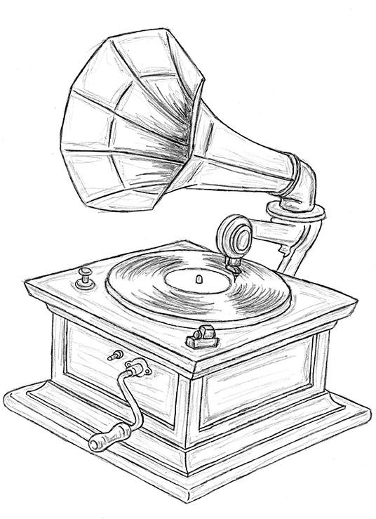 536x739 Gramophone Creativeliz