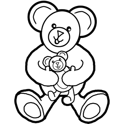 400x400 How To Draw Teddy Bears With Easy Cartoon Drawing Lesson