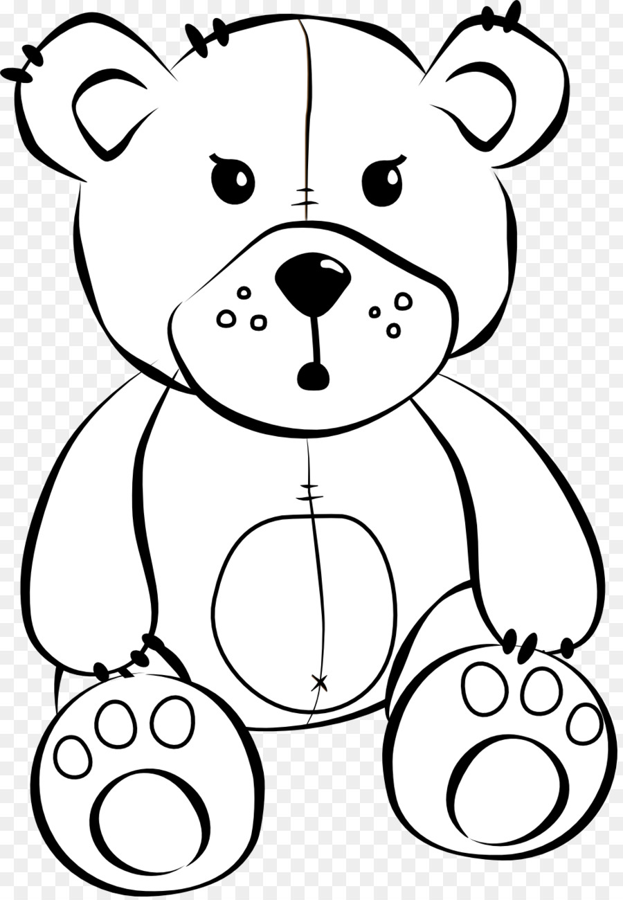 900x1300 Teddy Bear Cartoon Drawing Clip Art