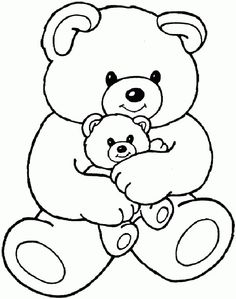 236x299 The Drawing Of Cute Teddy Bear Walking With A Huge Daisy. Nursery