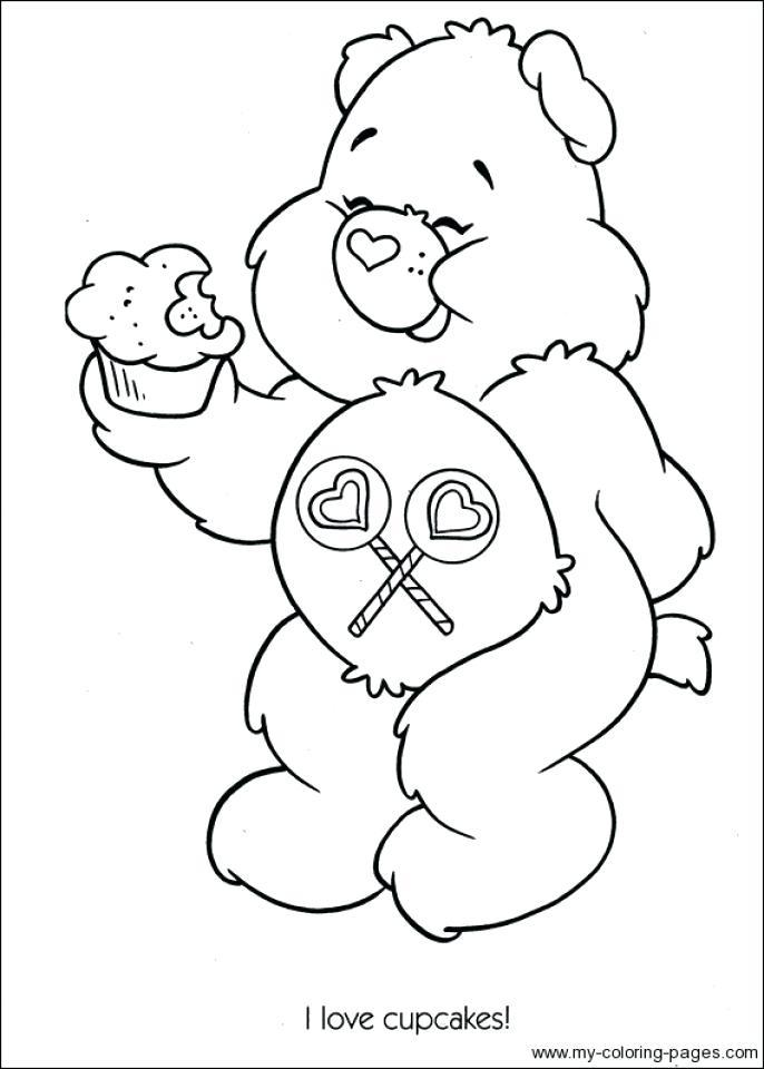 686x960 Bear Coloring Pages Preschool Easy Preschool Printable Of Care