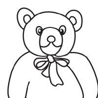 200x200 Drawing Teddy Bear