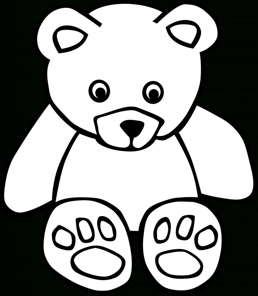 895x1024 Drawings Of Teddy Bears Teddy Bear Draw Free Download Clip Art
