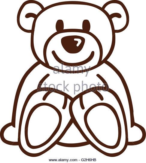 486x540 Bear Drawing Stock Photos Amp Bear Drawing Stock Images
