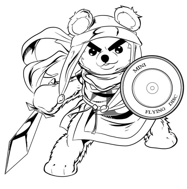 711x720 Collection Of Evil Teddy Bear Sketch