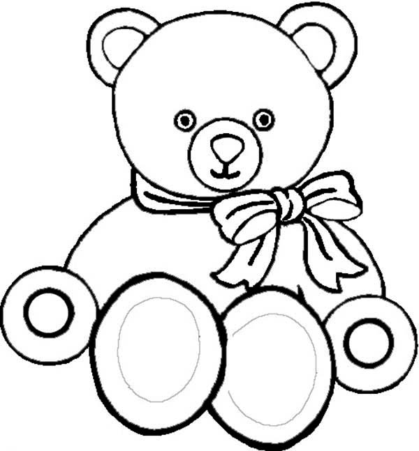 Teddy Bear Drawing Outline At Getdrawings Com Free For Personal