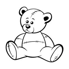 Teddy bear drawing pics at getdrawings free for personal use 236x236 tedey bear drowings altavistaventures Image collections