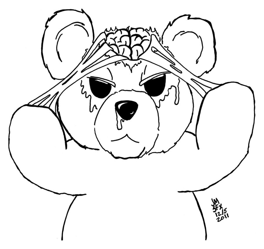Teddy Bear Drawing Pictures