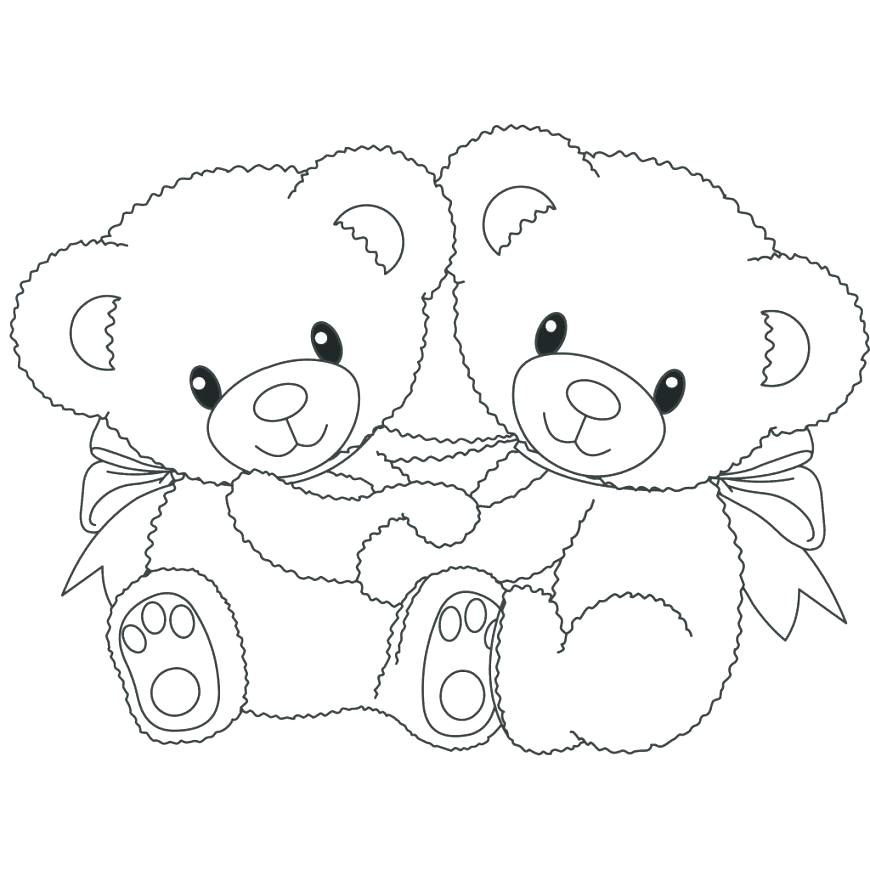 image about Printable Teddy Bear Pattern named Teddy Go through Drawing Stage By means of Stage at  Totally free