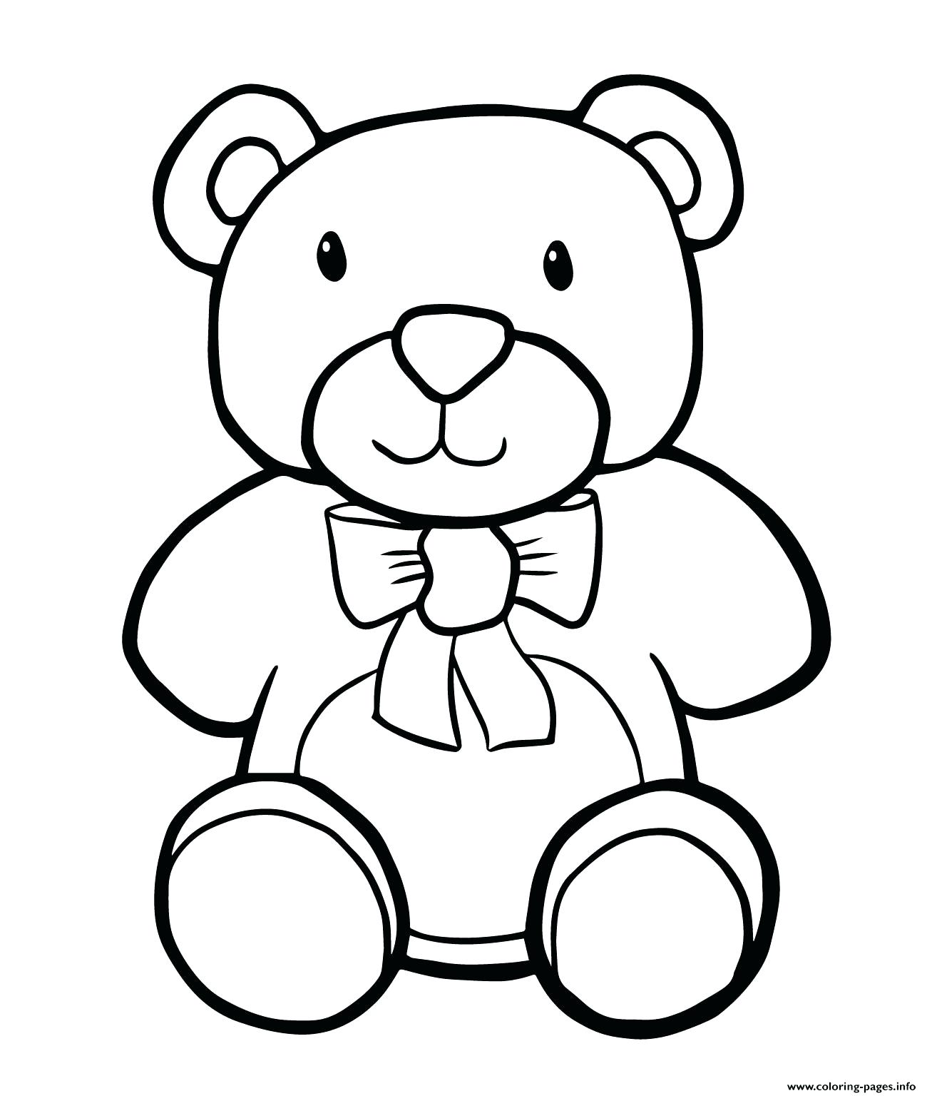 1300x1536 Coloring Pages Simple Teddy Bear Kids Heart Mandala